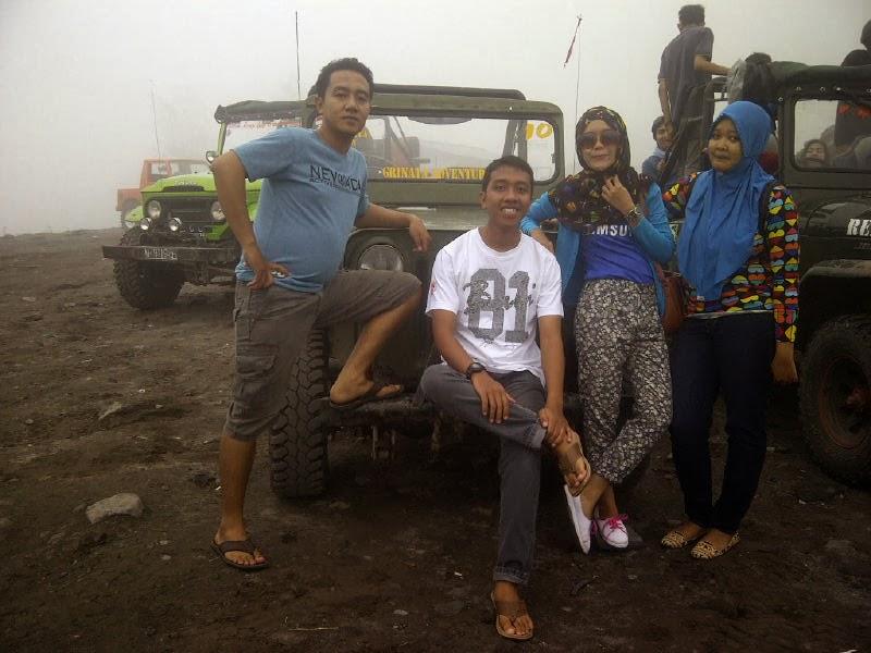 Jeep-Paket Wisata Lava Tour Kaliadem-Sisa Hartaku